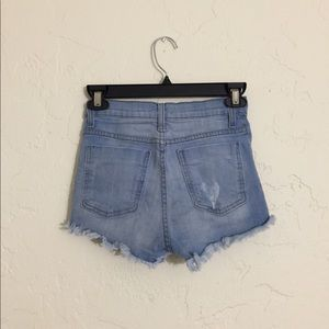 Goodtime Shorts - Goodtime High Waisted Denim Shorts